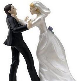 <center><b>Невеста прилюдно отхлестала жениха букетом</center></b>