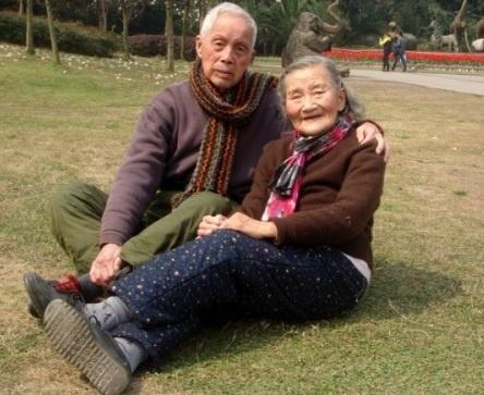 <center><b>Креативный юбилей свадьбы китайских пенсионеров</center></b>
