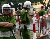 <center><b>Во Вьетнаме угнали полицейскую машину</center></b>