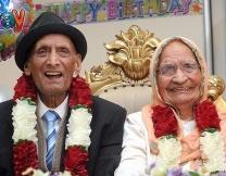 <center><b>Британская пара уже 90 лет в браке</center></b>