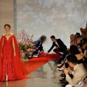 <b>Платье с самым длинным шлейфом показали в Новой Зеландии</b>