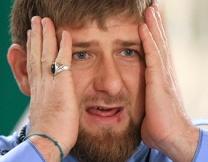 Кадырова тоже нарисовали грудью