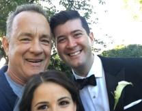 Том Хэнкс поучаствовал в свадебной фотосессии