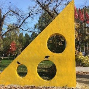 Приключения сырной скульптуры в Самаре