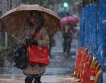 Снег в Токио в ноябре! Впервые за 54 года!