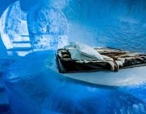 Ледяной отель в Швеции (видео)