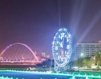 В Казахстане появились огромные часы