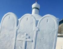 Церковь из снега в Омске