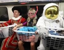 Большая стирка фриков в метро