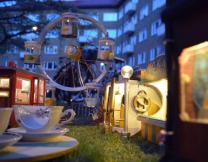 Микроскопический парк развлечений в Швеции