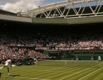 Теннисный корт из зубочисток