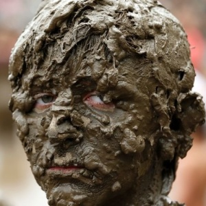Американцы купаются в грязи (фото)