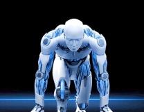 Робот-легкоатлет соревнуется с людьми (видео)