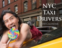 Нью-йоркские таксисты в антигламурном календаре