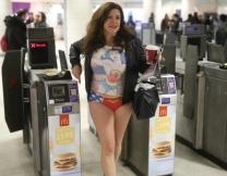 День без штанов в метро - 2018