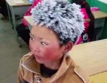Китайский мальчик-снежинка прославился на весь мир