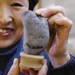 В Японии нашли музей смешных камней (видео)