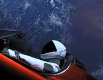 Илон Маск запустил машину в космос!