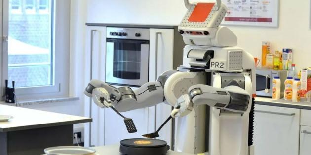 Робот-блинопёк устроит шоу на ВДНХ