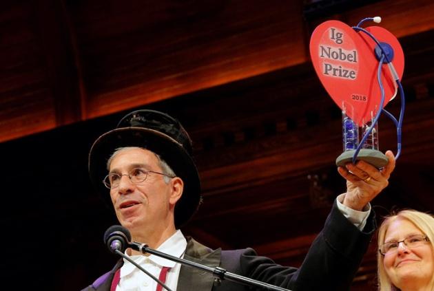 В Гарварде вручили Шнобелевскую премию