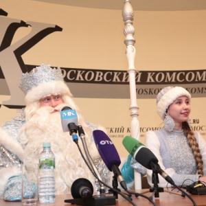 Дед Мороз выступает против мяса