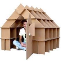 <center><b>Голландцы будут строить дома из картона</center></b>