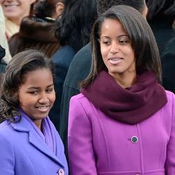 <center><b>Дочерей Барака Обамы обвиняют в транжирстве</center></b>