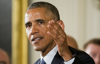 <center><b>Обама шутит над женой</center></b>