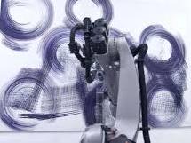 Робот нарисовал картину человеком (видео)