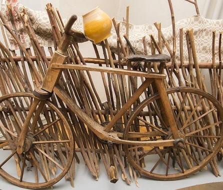 Деревянные велосипеды из Белоруссии