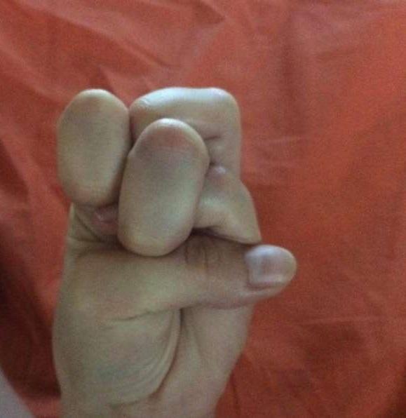 Китайцы гнут пальцы!