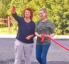 В Красноярском крае торжественно открыли асфальт