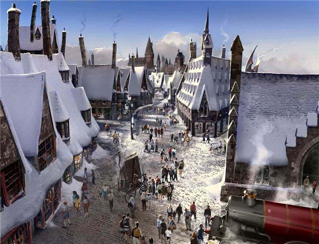 <center><b>В США откроется волшебная деревня Хогсмид</center></b>