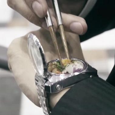 <center><b>Японцы придумали часы для хранения еды</center></b>